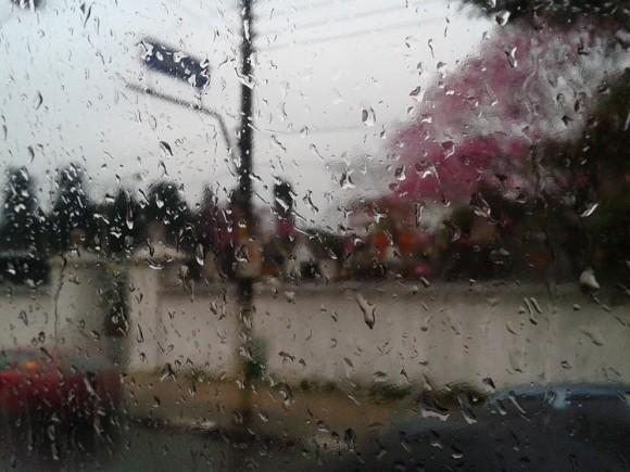 Foto Rua Cardeal - Dia Chuvoso