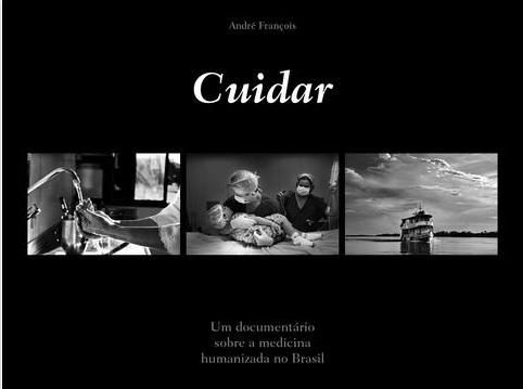 """Capa do Livro """"Cuidar"""" de André François"""