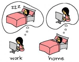 estresse dos estudantes e rotina cansativa